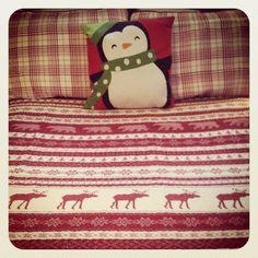 Christmas Bedding :)