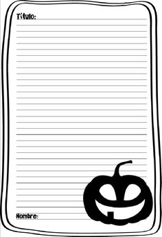Ana Martínez Rey  Para Palabras Azules Primary Classroom Displays, Disney Halloween, Third Grade, Letters, Writing, Bullet Journal, Writer, Scary Stories, Writing Activities