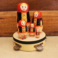 Image of Wooden Babushka Dolls