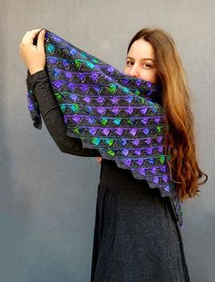 Peacock Colors, Raw Diamond, Winter Accessories, Fingerless Gloves, Arm Warmers, Mittens, Scarf Wrap, Cowl, October