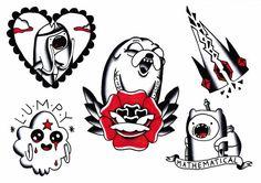 Adventure time tattoo shared by イレネ on We Heart It Jack Tattoo, Time Tattoos, Body Art Tattoos, Adventure Time Tattoo, Adveture Time, Tattoo Flash Art, Tattoo Art, Tatuagem Old School, Cartoon Tattoos