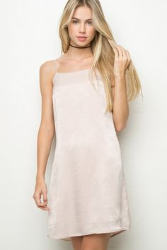 Brandy ♥ Melville | Claire Silky Dress - Clothing