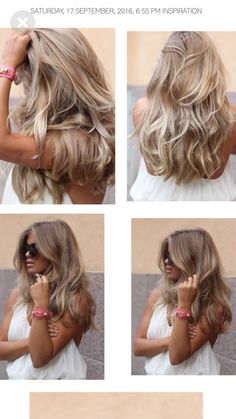 Amazing blonde hair color ideas you have to try 25 37 Find the perfect food and drink ideas, home design, nail and fashion Amazing blonde hair color ideas you have to try 25 blonde ha Blonde Hair Looks, Brown Blonde Hair, Dark Blonde, Blonde Color, Blonde Brunette, Pelo Color Azul, Pinterest Hair, Hair Color And Cut, Blonde Highlights