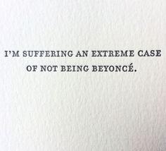 Beyonce Letterpress Card