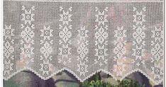 Crochet: Curtain Filet crochet