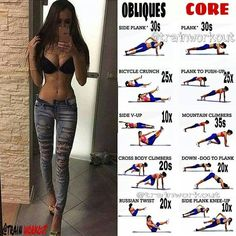 Belly fat burner workout - The Most Unexpected 15 Exercises For A Sexy Ab Blast & Body Sculpt Workout Fitness Workouts, Fitness Hacks, Fitness Motivation, Yoga Fitness, Obesity Workout, Fitness Sport, Fitness Logo, Physical Fitness, Abs And Obliques Workout