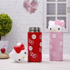 Ali Express: Hello Kitty Stainless Steel Double Wall Vacuum Flask Coffee Bottle Travel Tumbler Water Bottle Insulated Thermos For Children