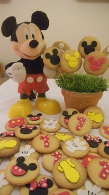 Galletas Mickey Mousse. Mickey Mousse cookies. Natali's cooking