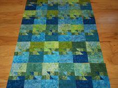 Sunset Over Sedona - pieced top with 4 different blocks