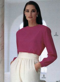 Women's Fashion from a 1991 catalog #1990s #fashion #vintage