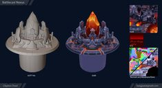 ArtStation - Battlecast Nexus 3D, Clayton Chod
