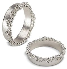 hannah bedford - silver froth ring