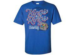 Kansas Jayhawks Big 12 King of the Ring Adult Tee - Royal