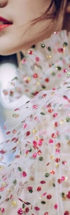 Dots Fashion, Color Of Life, Life Is Like, Polka Dots, Colour, My Favorite Things, Detail, Inspiration, Color