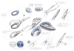 Behind the sceens: ideation and design sketching by Alberto Vasquez, via Behance.