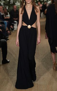 Connelly Cutout Gown by Ralph Lauren
