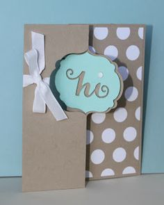 Just Julie B's Stampin' Space: Flipping over the Swing Card!
