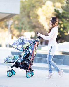 I rarely post about baby products unless it's something worth sharing and something I truly love, and I love this Cosatto stroller! Who says a great stroller has to look boring, right?