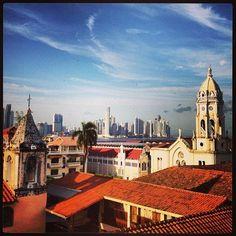 Casco Viejo, en ciudad de Panamá, Panamá.