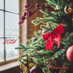 Σε 2 μέρες θα υποδεχτούμε την νέα χρονιά με χαμόγελα, αισιοδοξία και πολλές νέες γεύσεις! #handmade_happiness #Λευκός_Πύργος #famigliano #ourplace #myfamigliano #thessaloniki #skg #thessalonikifood #skgfood #ρεβεγιόν #newyearmenu #πρωτοχρονιά #festive #festivemenu Christmas Lights, Christmas Wreaths, Christmas Ornaments, Christmas Decorations, Countdown Clock, Days Until Christmas, Shop Front Design, Christmas Traditions, Design Crafts