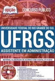 Apostila Ufrgs 2018 Assistente Em Administracao Concurso