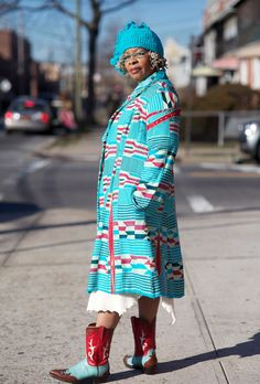 Not your average grandmother. From Advanced Style.