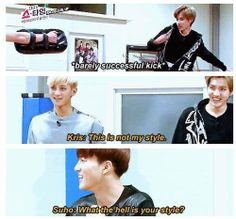 the question of the year xD #kris #exo