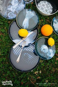 Luso & Yuan Osorio table sets by ibride  #design #kitchen #home #vase #decoration #tableware #ibride #empilable #stackable #dishes #dinner (photo @Olivia-LesInstantsVrais, CouleursNomades La Réunion)