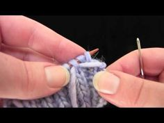 Liat Gat~ 2x2 Invisible Ribbed Bind-Off - YouTube. Interesting, but I think it will be a while before I try this.