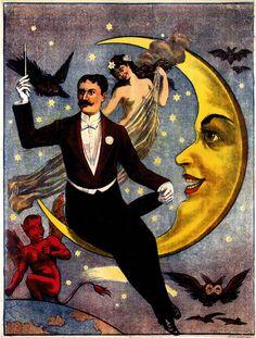 Magician on Moon