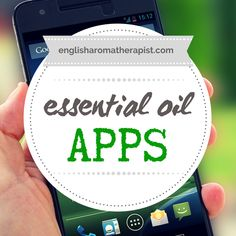 Let's talk about essential oil apps!