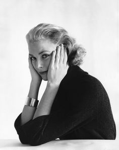 Grace Kelly photographed by Mark Shaw, December, 1953