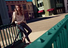 Karmen Pedaru Fronts Massimo Dutti's NYC Campaign by Hunter & Gatti | Fashion Gone Rogue: The Latest in Editorials and Campaigns