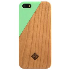 Native Union: CLIC Wooden iPhone 5 Case Jade