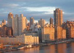 New York Skyline Golden Sunrise New York by FineArtStreetPhotos
