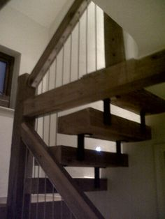 More Rustic Staircase