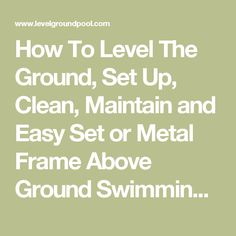 Above Ground Pool Reviews Best And Worst Top 10 Models Ground Pools Backyard And Decking