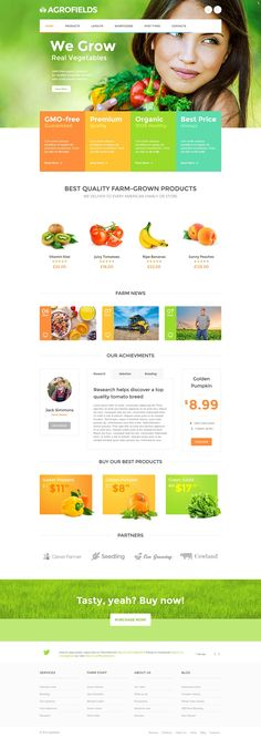 Organic Wordpress Themes - Collection