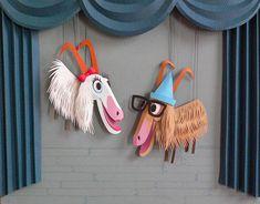 Sound of Music Goat Puppets Megan Brain