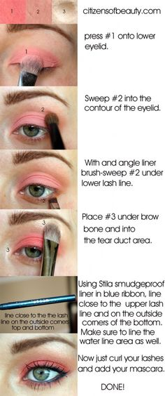 Pretty possible prom eye makeup