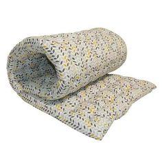 Matelas de sol Coton imprimé Mistigri 80x190 cm gris, jaune et blanc - Achat / Vente coussin - matelas de sol - Cdiscount