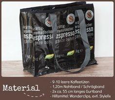 Trinkst Du gerne Kaffee? Dann wird Dir diese Tasche bestimmt gefallen. Und das Beste ist: das notwendige Material hast Du im Handumdrehen gesammelt. Eine kostenlose DIY Nähanleitung für diese Kaffeetütentasche findest Du hier. Viel Spaß beim Nähen und Kaffee trinken, … mehr