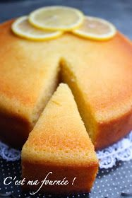 This is my batch: The lemon cake (cake fondant ultra lemon) Lemon Desserts, Lemon Recipes, Sweet Recipes, Cake Recipes, Dessert Recipes, Lemon Cakes, Fondant Cakes, Cupcake Cakes, Blog Patisserie