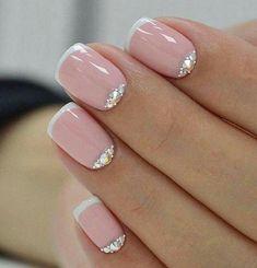 Tierno modelo de uñas #unasdecoradas
