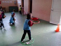 Fem educació física a Primària.