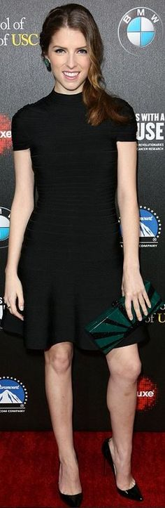 Dress – Herve Leger Purse – Edie Parker Jewelry – Jack Vartanian, Ivy, and Sethi Couture Shoes – Christian Louboutin