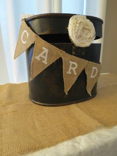Rustic Card box for Rustic Gifts Table and Events by Its Personal Wedding Staging and Design, Milton, FL