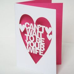 cute idea to write letter to husband day of wedding!