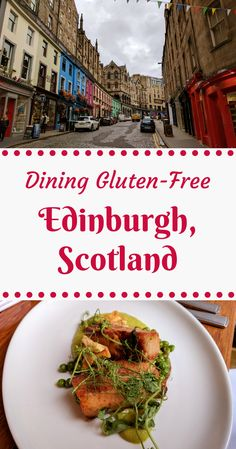 A guide to eating gluten-free in Edinburgh, Scotland! Includes all the best cafes and where I stayed!