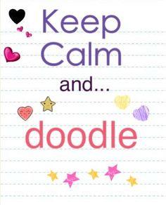 Keep calm..Doodle